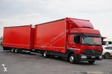 грузовик не указано MERCEDES-BENZ - ATEGO / 1224 / EURO 6 / ZESTAW 120 M3 / ŁAD12 000 + remorque