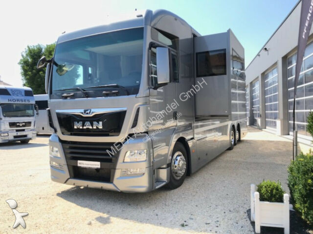Camion MAN 26.460 TGX 6x2, Pop-Out,6 Pferde,Neufz