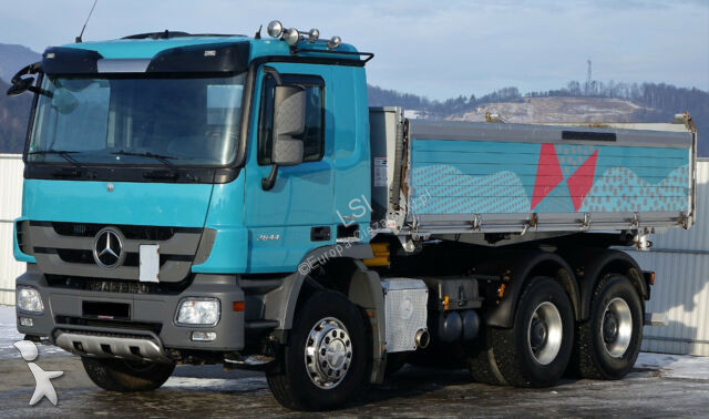 Camion Mercedes Actros 2644 Kipper 5,10m Topzustand! !
