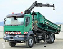 camion Renault Kerax 270dci Abrollkipper 4,40 m+KranTopzustand!