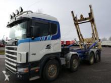 Scania 164 580 8X2 Silosteller truck