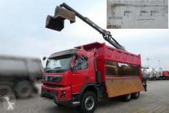 camion Volvo FMX 450/6x4 3-Achs Kipper Heckkran PENZ-Kran 11