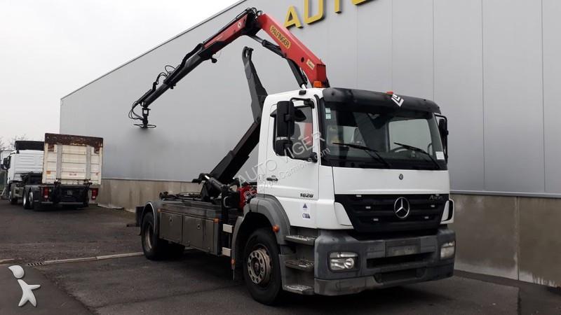 Camion Mercedes Porte Containers Hauteur Standard Belgique 17