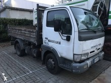 Nissan three-way side tipper truck
