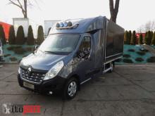vrachtwagen Renault MASTERPLANDEKA 8 PALET WEBASTO KLIMA TEMPOMAT PNEUMATYKA 165KM