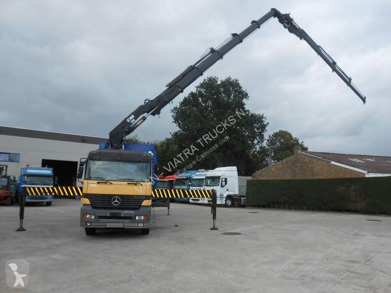 Camion Mercedes 3243 K + HIAB 550-5/JIB135-4 + Winch 2ton