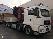 16 Camión caja abierta transporte de bebidas MAN TGS 2008 363 750 km8x4 - Euro 4