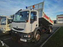 camion Renault Midlum 240.16 benne + plaque AV