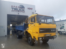 camion DAF 1800, FULL STELL ,TIPPER WITH CRANE ,4X4