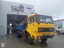 camião DAF 1800, FULL STELL ,TIPPER WITH CRANE ,4X4