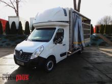 Renault MASTERPLANDEKA FIRANA 10 PALET KLIMA WEBASTO TEMPOMAT PNEUMATYK truck