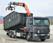 camion Mercedes Actros 2536 Abrollkipper 6,70m+ KRAN*Topzustand!