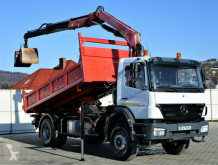 camião Mercedes Axor 1828 Kipper 4,65 m + KRAN*Topzustand*!!