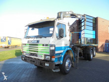 camion Scania 93H280 / Full Steel / Manual / Hiab 140 Crane