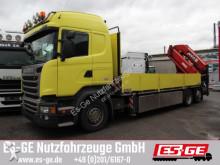 camión Scania R490 LB6x2 mit MKG-Ladekran HLK531 HPa5