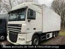 camion DAF 2 x XF 105/410 Schmitz Rohrbahn Carrier