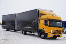 n/a MERCEDES-BENZ - ATEGO / 823 / EURO 6 / ZESTAW 120 M3 / ŁAD 5650 KG + remorque truck