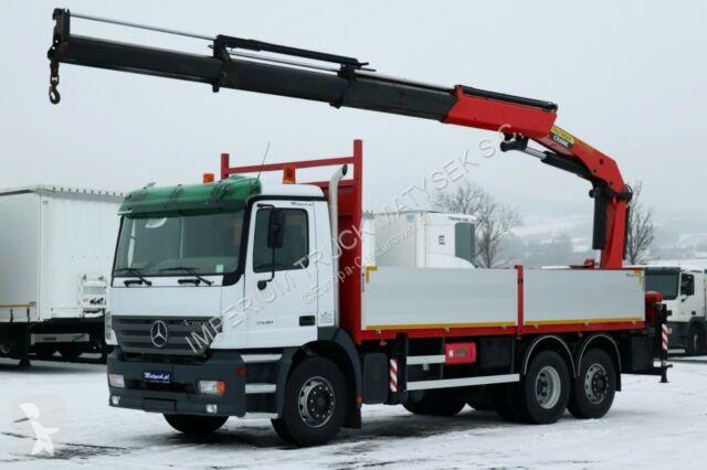 Ciężarówka Mercedes ACTROS 2540 / 6x2 /CRANE PALFINGER PK23002 /