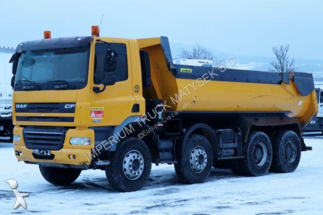 Ciężarówka DAF CF 85.410 / 8X4 / TIPPER /MARREL / MANUAL /