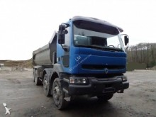 camion benne Enrochement Renault