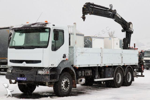 Ciężarówka Renault KERAX 370 / 6X4 / CRANE HIAB 195 / REMOTE CONTRO