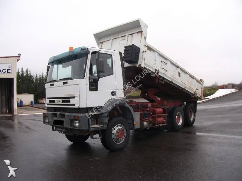 Wszystkie nowe Ciężarówka Iveco wywrotka Eurotrakker 440 6x6 Olej napędowy Euro 3 XA22