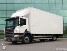 vrachtwagen Scania P230 EURO 3 CLOSED BOX TAIL LIFT