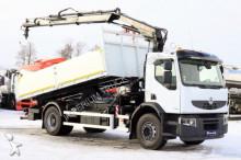Renault LANDER 270 /4X2/ TIPPER + CRANE HIAB 122/ REMOTE truck