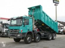 camion Mercedes nc Actros 4141 8x8 4 Achs Muldenkipper Meiller 17m