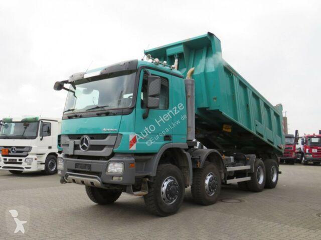 Camion Mercedes Actros 4141 8x8 4 Achs Muldenkipper Meiller 17m