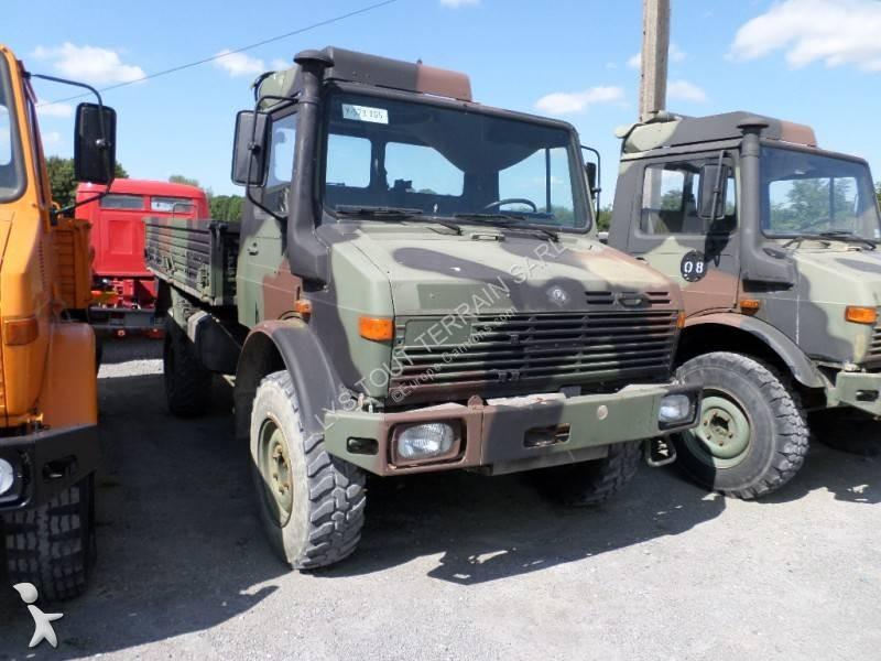 camion mercedes militaire unimog 1300l 4x4 occasion n 2990076. Black Bedroom Furniture Sets. Home Design Ideas