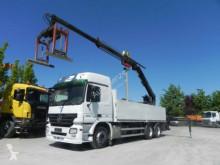 Mercedes Actros 2644 6x4 Pritsche Heckkran Hiab XS 166 truck