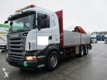 ciężarówka platforma burtowa Scania