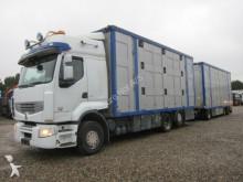 vrachtwagen paardentrailer Renault
