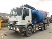 camion calcestruzzo betoniera mescolatore + pompa Iveco