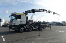 camião estrado / caixa aberta Scania