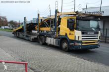 грузовик автовоз Scania
