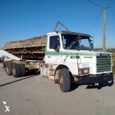 vrachtwagen tweezijdige kipper Scania