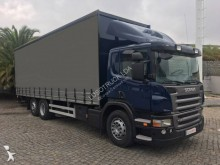 грузовик шторный Scania