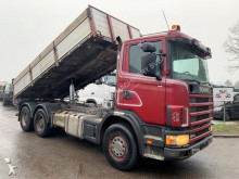 camion Scania 124C-420 - - MANUAL 3+3 - STEEL SPRING / BALLIESTAS / LAMES / BLATT - BIG AXLES HUB REDUCTION / AP ACHSE / CUBOS
