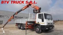 vrachtwagen Iveco Eurotech 190 E 30 EUROTECH CASSONE FISSO CON GRU FERRARI
