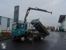 camión Mercedes 917 LK 4x2 KK Kipper/Kran 2xAHK 1.Hand TÜV 9/19