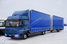 vrachtwagen onbekend MERCEDES-BENZ - ATEGO / 823 / EURO 6 / ZESTAW 120 M3 / ŁAD 7200 KG + remorque
