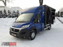 camion Fiat DUCATOPLANDEKA FIRANKA 8 PALET WEBASTO KLIMA TEMPOMAT PNEUMATYK