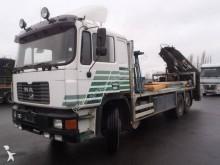 ciężarówka platforma do transportu płyt MAN