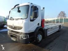 camión caja abierta transporta gas Renault