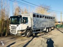 camião transporte de gados Scania