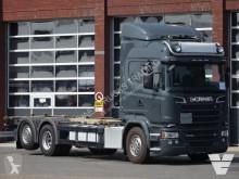 camião porta contentores Scania
