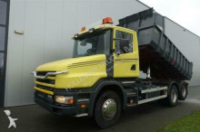 vrachtwagen Scania T114.340 6X2 DUMPER MANUAL FULL STEEL