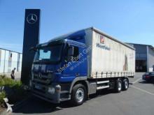 vrachtwagen met huifzeil Mercedes
